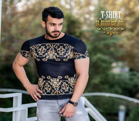 تیشرت مردانه مدل LIBRA